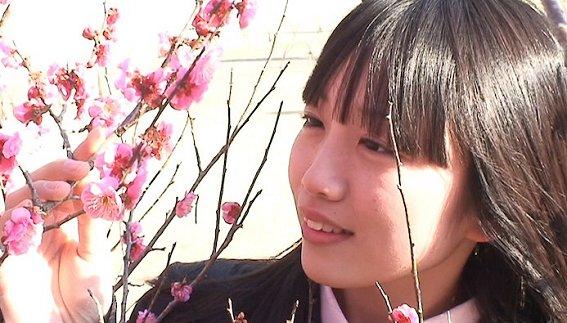 地元、水戸の名門、大成女子高に通う白石玲子さん、17歳。