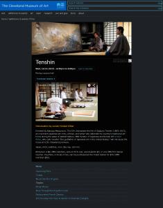 FireShot Capture 1 - Tenshin I Cleveland Museum _ - http___www.clevelandart.org_events_films_tenshin